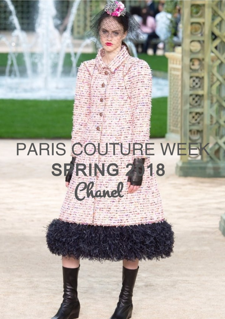 PFW | Couture Spring 2018 |Chanel