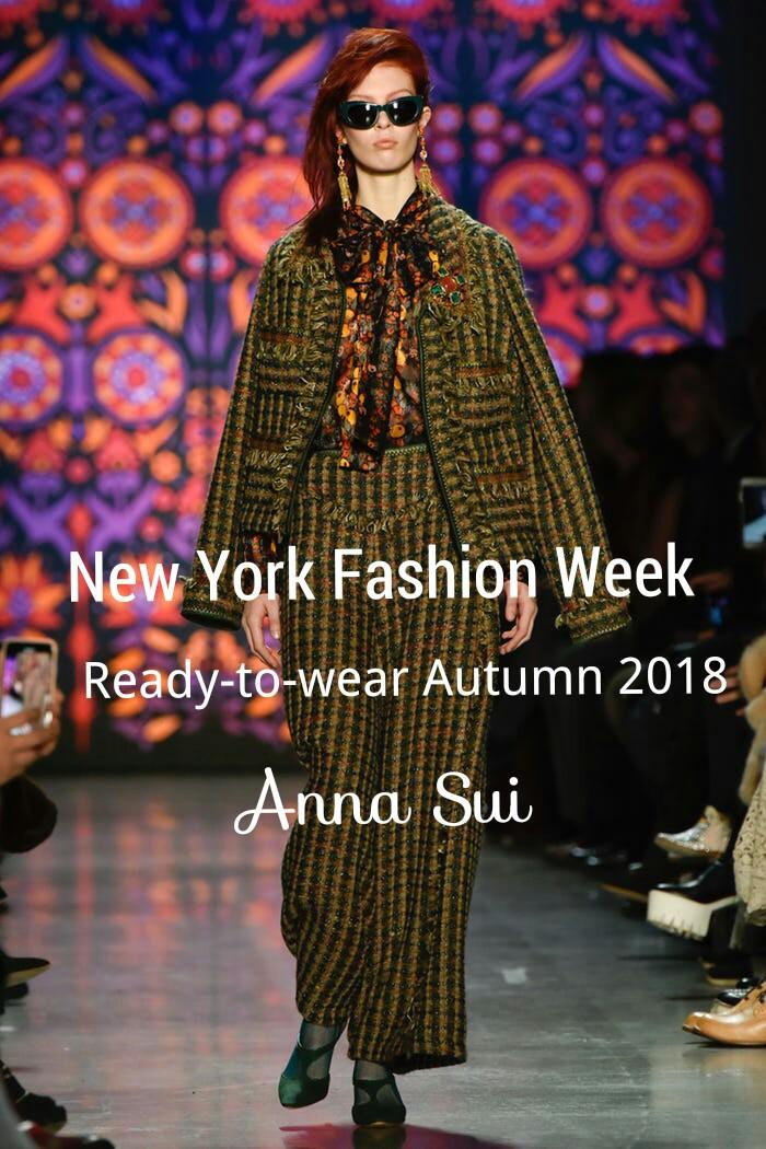 #NYFW | Ready-to-wear Autumn 2018 | AnnaSui