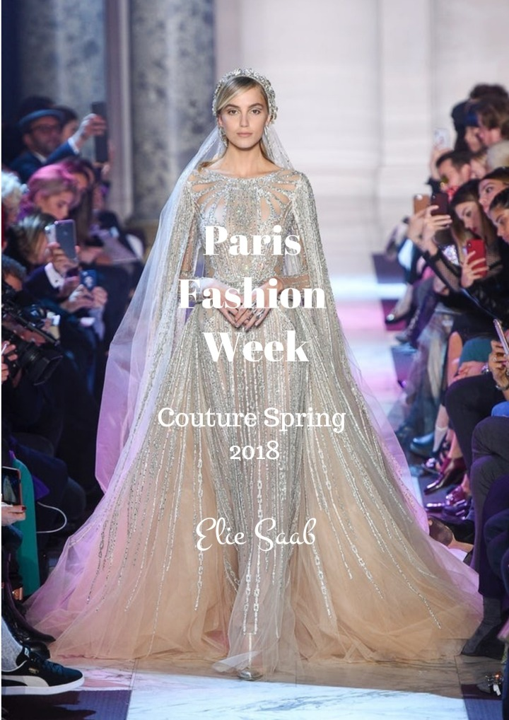 PFW | Couture Spring 2018 | ElieSaab